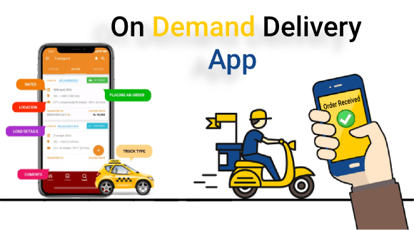 on demand delivery app for your business